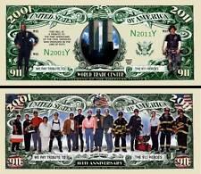 11 SEPTEMBRE BILLET DOLLAR US COMMEMORATION WORLD TRADE CENTER 2001 Histoire WTC
