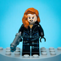 Authentic Lego BLACK WIDOW Minifigure | Marvel Super Heroes #6869 | Free S&H