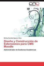 Diseno y Construccion de Extensiones Para CMS Moodle (Paperback or Softback)