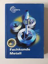 Fachkunde Metall von Josef Dillinger (2007, Taschenbuch)