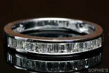 14k White Gold Wedding & Anniversary Band Sets with Diamonds