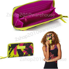 ZUMBA Be the boss and Let It Move You Wallet Bag Clutch Travel,Gym~A Great Gift!