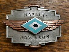 6 Vintage Harley Davidson Belt Buckle's Western Spirit Turquoise