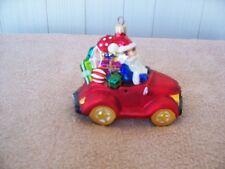 "Christopher Radko ""Jolly Jalopy"" Christmas Ornament"