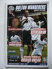 Premiership Teams A-B Bolton Wanderers Football Programmes