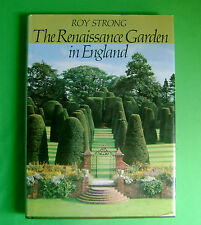 The Renaissance Garden in England by Roy Strong (1979, Hardcover) Signed Book
