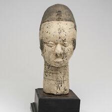 DK7 Yoruba Figur Terrakotta Kopf Afrika alt / Statuette yorouba / Ife terracotta