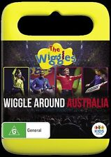 The Wiggles: Wiggle Around Australia - Anthony Field NEW R4 DVD