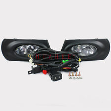 For 2011 2012 2013 Honda Fit Jazz Fog Lamp Assembly w/Bulb + Switch +Wire +Bezel