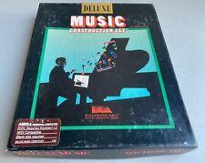 "1986 Electronic Arts Deluxe Music Construction Set Amiga MDI 3.5"" Floppy Disk"