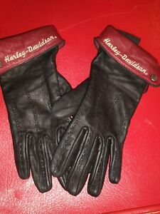 Womens Harley Davidson leather gloves Woman's