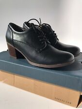 G. H. Bass Sadie Lace-up Bootie Black (Size 8.5)