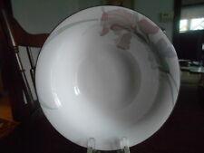 "Cafe Du Soir Cereal Soup Bowl (s) 7"" Noritake New Decade White Grey Pink Green !"