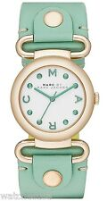 Marc by Marc Jacobs Ladies White Green Molly Watch MBM1306