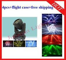 4pcs 4*30W Supper Led Beam Moving Head DJ Stage Light Flight Case Free Shipping