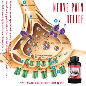 Super Nerve Power 90 Capsule mega Pack Improves Nerve Pain Metabolism
