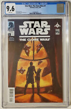 Star Wars: The Clone Wars #1 (2008, Dark Horse) CGC 9.6 NM+ 1st App Ahsoka Tano