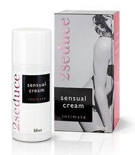 2Seduce Intimate Sensual Cream (50 ml) für den Intimbereich der Frau Lustmittel