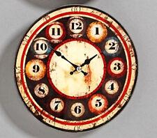 Rebajas 1 reloj de pared nostálgico reloj de cocina retro reloj Shabby Clock shabbyuhr retrouhr