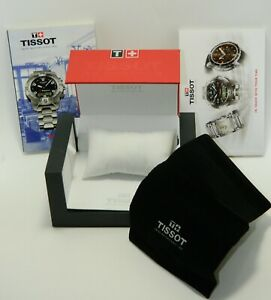 TISSOT Watch Box Travel Pouch story booklet and Catalogue