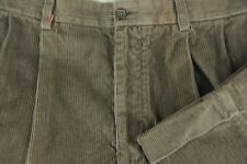Daniel Cremieux Men's Brown Corduroy Cotton Casual Pants 36 x 32