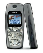 Vintage Nokia 3560 TDMA Bar-Style Mobile Cell Phone with Battiery