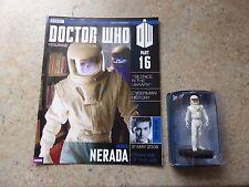Eaglemoss Doctor Who Figurine Collection Part 16 Nerada Figure & Magazine