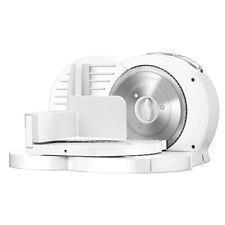 Cortafiambres plegable blanco grosor de corte ajustable 15mm, 17mm 150W MPM