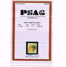 GENUINE DWI DANSIH WEST INDIES SCOTT #9a USED PSAG CERT US POSESSIONS - ESTATE