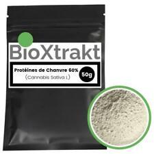 BioXtrakt ® Protéines de chanvre 60%  Organic, Body Bulding, Muscle, Vegetarien