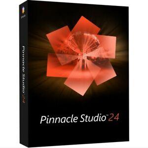 Pinnacle Studio 24 Software Flexible Video Editing Retail Box SEALED