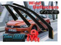 VOLKSWAGEN POLO (VI gen) 5D 2017 -  Wind deflectors  4.pc HEKO 31014