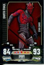 Star Wars Force Attax Series 3 Card #203 Darth Maul