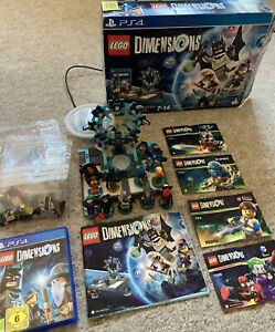 LEGO DIMENSIONS PS4 BUNDLE - Boxed & Instruction Manuals Included