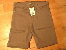 H&M Boys Cotton Stretch Twill 5-Pocket Shorts 10-11 Years NEW RRP £16.98 Grey