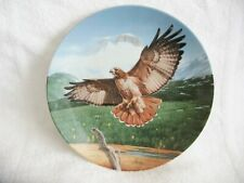 """Knowles- """"The Red-tailed Hawk"""" 4th Issue in the Majestic Birds collection."""