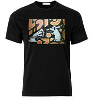 HMV Dog Banksy  - Graphic Cotton T Shirt Short & Long Sleeve