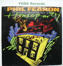 "PHIL FEARON - Ain't Nothing But A House Party - Ex Con 12"" Single Ensign PFX 2"