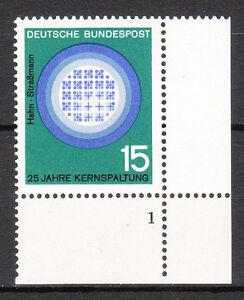 BRD 1964 Mi. Nr. 441 Postfrisch Eckrand 4 Formnummer 1 TOP!!! (9581)