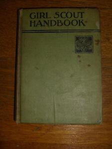 Girl Scout Handbook - 1st Edition/4th Impression -GSA- 1938