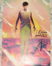 Show Luo Zhi Xiang Good Show Count on Me Taiwan Autograph Promo Poster