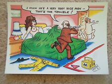 G140 BAMFORTH COMIC SERIES NO 2090 AA Man (Automobile Association Humour)