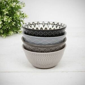 Home Living Set of 4 Small Bowls