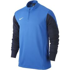 Nike Boys Squad 14 Midlayer Pullover Long Sleeve Top Blue (M) 10-12 Years BNWT