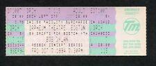 Original Bob Dylan 1994 Unused Concert Ticket Orpheum Boston Ma World Gone Wrong