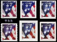 4391-95 4395 4396 Flags 44c USA Complete Set of 6 Varieties 2009 MNH - Buy Now