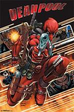 DEADPOOL - ATTACK COMIC POSTER - 22x34 MARVEL COMICS 13561