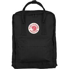 Fjallraven Kanken Classic Backpack Carry School College Bag Black 16 Litres
