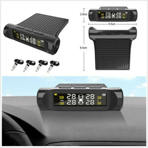 LCD Display Auto Security Alarm Systems Car TPMS System Internal Build-in Sensor