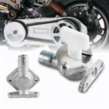 Carb Carburetor Fuel Tap Switch for 47cc 49cc Mini Pocket Bike Quad ATV Silver